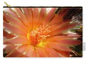 Glowing Cactus Flower Carry-all Pouch