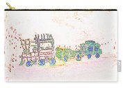 Glowing Choo Choo Invert Carry-all Pouch