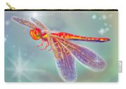 Glowing Dragonfly Carry-all Pouch
