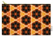 Glowing Floral Pattern Carry-all Pouch