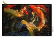 Glowing Koi Carry-all Pouch