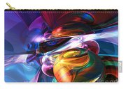 Glowing Life Abstract Carry-all Pouch