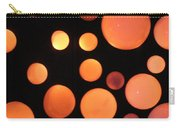 Glowing Orange Carry-all Pouch