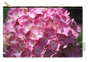 Glowing Pink Hydrangea Carry-all Pouch