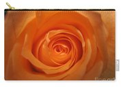 Glowing Orange Rose Carry-all Pouch