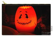 Glowing Pumpkin Carry-all Pouch