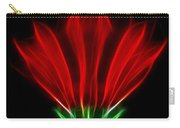 Glowing Red Carry-all Pouch