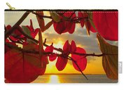 Glowing Red Carry-all Pouch by Stephen Anderson