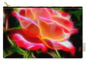 Glowing Rose Carry-all Pouch