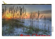 Glowing Sea Oats Sunrise Carry-all Pouch