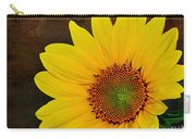 Glowing Sunflower Carry-all Pouch