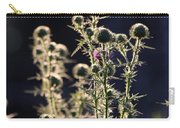 Glowing Thistle - 2 Carry-all Pouch