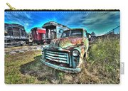 Gmc Coal Truck 1950s No 1 Carry-all Pouch