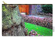 Gnarly Tree With Flowers Carry-all Pouch