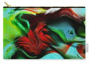 Go With The Flow Abstract Carry-all Pouch