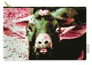 Goat Abstract Carry-all Pouch