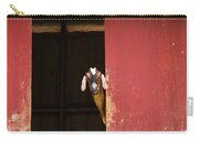 Goat In Barn Carry-all Pouch