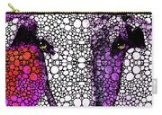 Goat - Pinky - Stone Rock'd Art By Sharon Cummings Carry-all Pouch