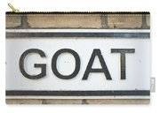 Goat Carry-all Pouch by Tom Gowanlock