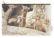 Goats On A Rock Carry-all Pouch