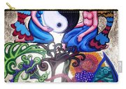 God And Gaia Carry-all Pouch by Genevieve Esson
