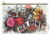 God Bless Our Home Carry-all Pouch