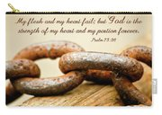 God Is My Strength Carry-all Pouch