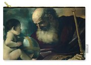 God The Father And Angel Carry-all Pouch
