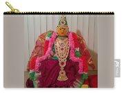 Goddess Lakshmi Idol Carry-all Pouch