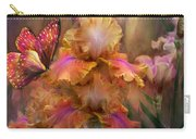 Goddess Of Sunrise Carry-all Pouch by Carol Cavalaris