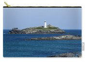 Photographs Of Cornwall Godrevy Lighthouse Carry-all Pouch