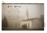 God's Minute Carry-all Pouch