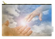 God's Saving Hand Carry-all Pouch