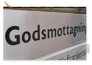 Godsmottagning. Stockholm 2014 Carry-all Pouch