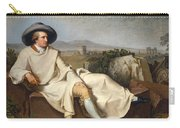 Goethe In The Roman Campagna Carry-all Pouch
