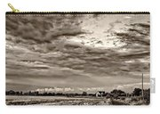 Goin' Home Sepia Carry-all Pouch