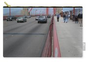 Going North On Golden Gate Bridge Carry-all Pouch