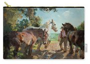 Going To Pasture Carry-all Pouch