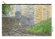 Going Up The Lane In Beynac Digital Print Carry-all Pouch