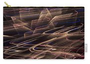 Gold Abstract Lights Carry-all Pouch