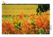 Gold And Orange Landscape Carry-all Pouch