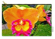 Gold And Pink Orchid At Maerim Orchid Farm In Chiang Mai-thailan Carry-all Pouch