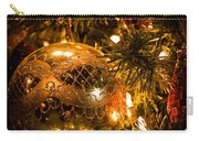 Gold Christmas Ornament Carry-all Pouch
