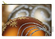 Gold Christmas Ornaments Carry-all Pouch by Elena Elisseeva