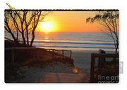Gold Coast Sunrise Carry-all Pouch