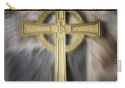 Gold Cross Carry-all Pouch
