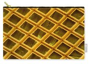 Gold Electron Micrograph Grid Carry-all Pouch