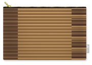 Gold Golden Strips Stripes 36x12 Horizontal Landscape Energy Graphics Background Designs  And Color  Carry-all Pouch