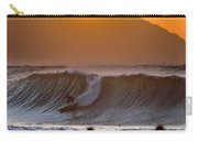 Gold Kaena Sunset Carry-all Pouch