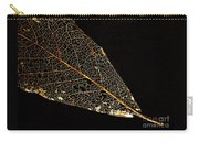 Gold Leaf Carry-all Pouch
